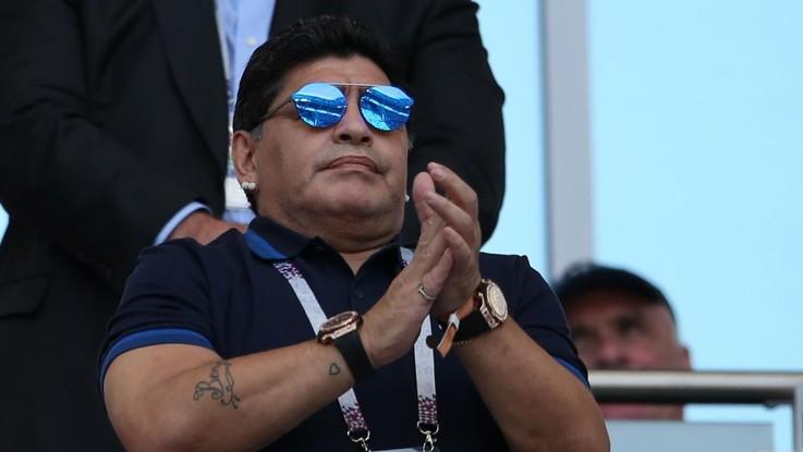 Russia 2018, Maradona si scusa con la Fifa e con gli arbitri