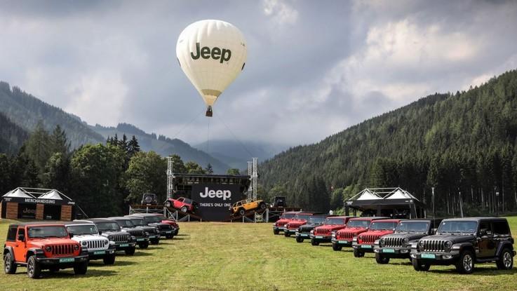 "Jeep, ci vediamo al ""Camp"""