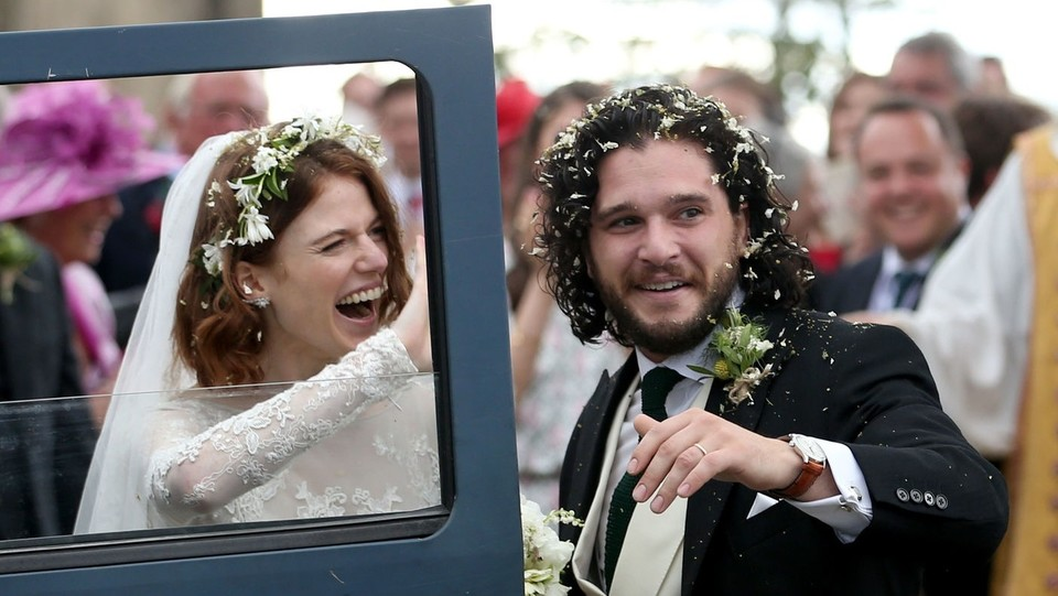 Kit Harington e Rose Leslie ©PA/Lapresse