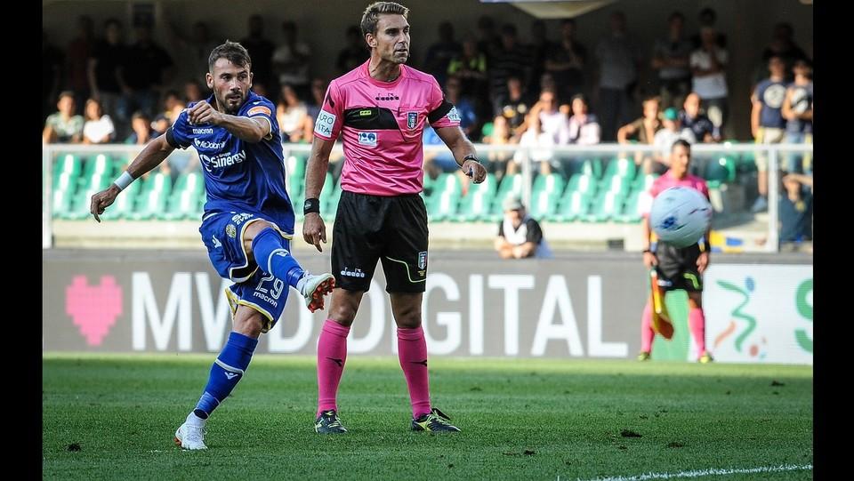 Verona-Padova 1-1 - Il gol di Almici ©Claudio Martinelli/LaPresse