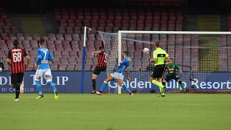 Il gol di Bonaventura ©Cafaro Gerardo/LaPresse