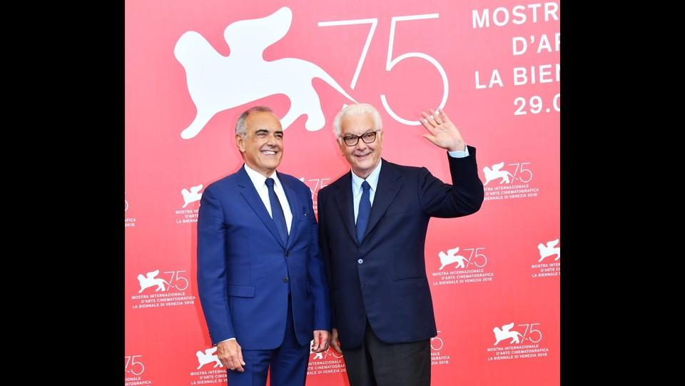 Alberto Barbera e Paolo Baratta ©Gian Mattia D'Alberto / LaPresse