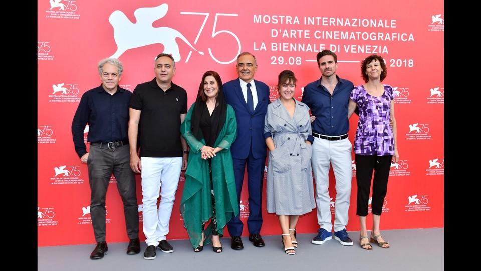 Photocall delle giurie - 75ma mostra internazionale del cinema ©Gian Mattia D'Alberto / LaPresse