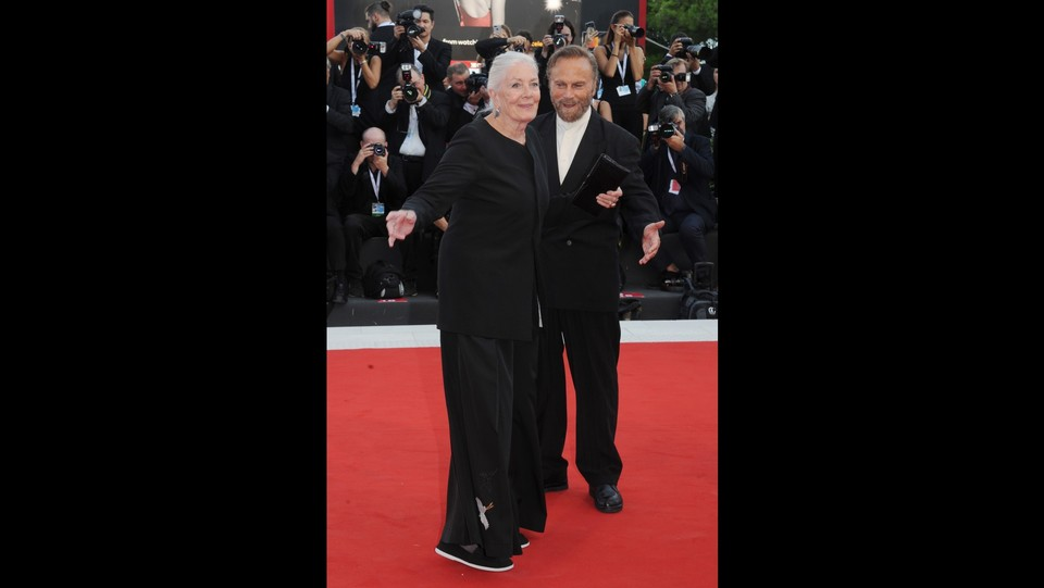 Vanessa Redgrave e Franco Nero ©Piergiorgio Pirrone/LaPresse
