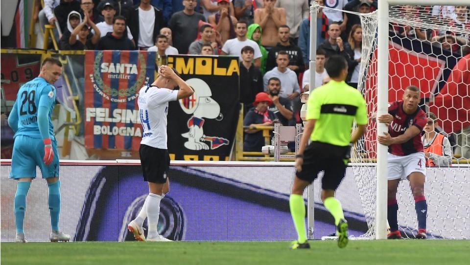 85' Perisic regala il terzo gol ai neroazzurri ©Massimo Paolone/LaPresse
