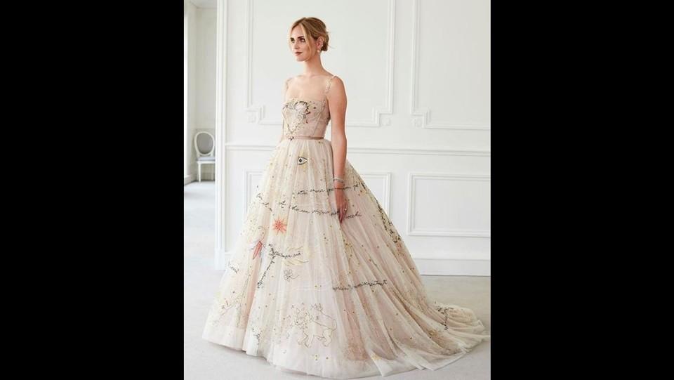 Il secondo abito firmato Dior ©
