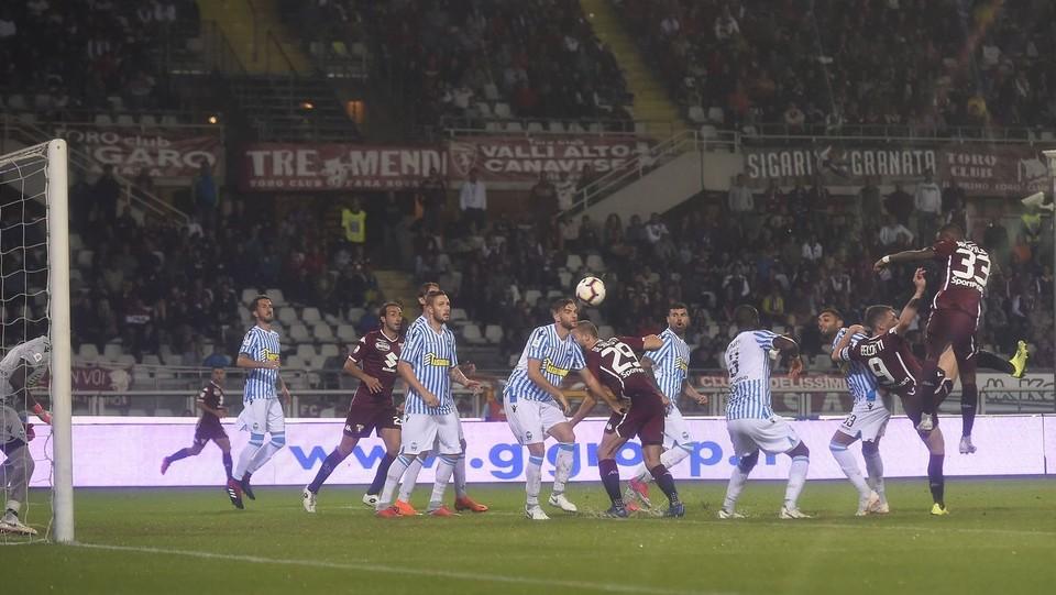 Il gol di 'Nkoulou che ha deciso la partita ©LaPresse
