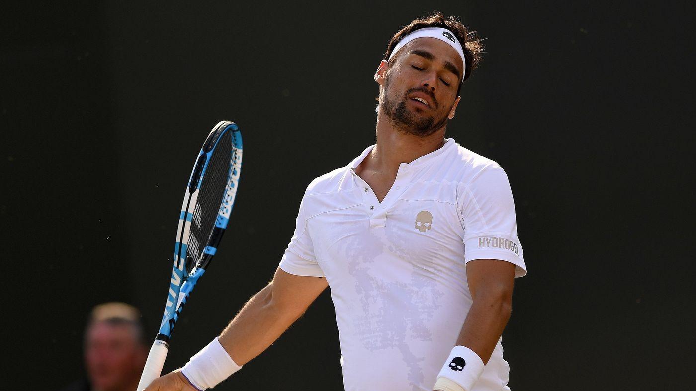 Tennis, Us Open. Avanti Fognini, stop a Cecchinato