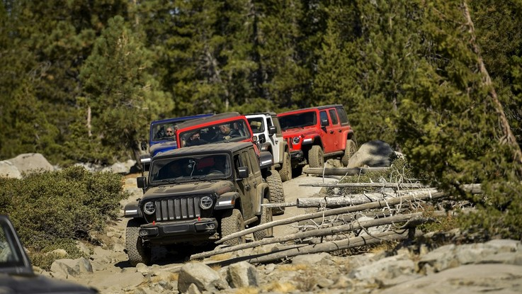 Rubicon Trail, con la jeep sulla via del West | Video