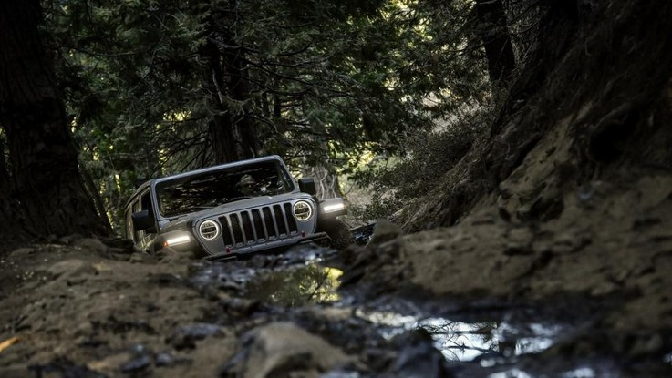 Jeep Wrangler alla conquista del West