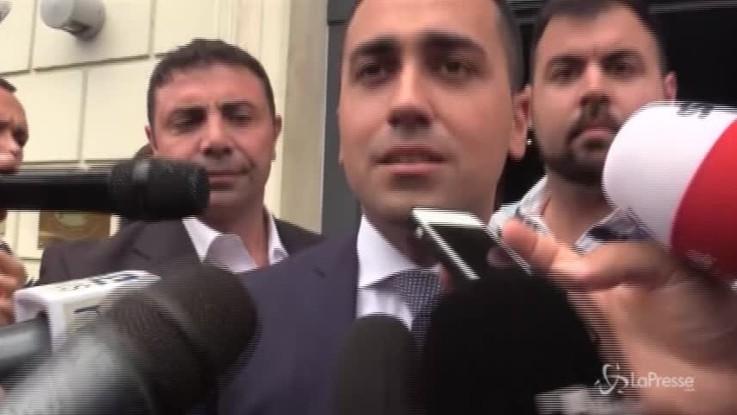 """Dl Dignità, Di Maio: """"Non è un decreto che vuole licenziare. Andiamo avanti e troviamo la manina"""""""