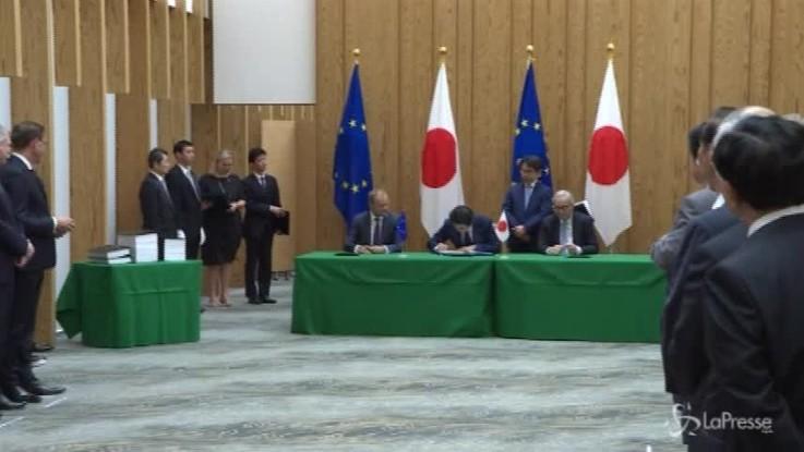 Ue e Giappone dicono no al protezionismo