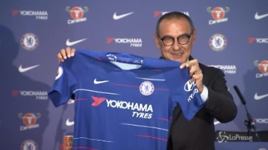 """Sarri: """"Qui al Chelsea per divertirmi, sfida difficile ma affascinante"""""""