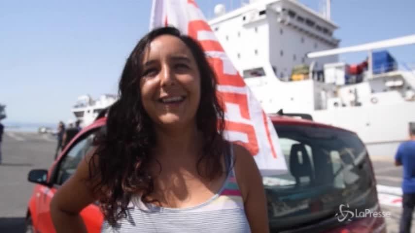 """A Catania gli attivisti di Caravana Abriendo Fronteras: """"Salvini non rappresenta la maggior parte delle persone"""""""