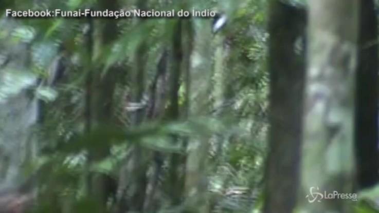 Brasile, ecco l'ultimo sopravvissuto di una tribù amazzone