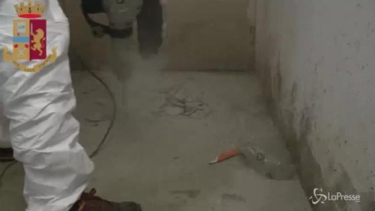 A Cinisello un cadavere murato sotto il pavimento