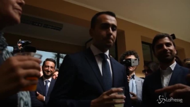"""Catania, Di Maio visita l'azienda Oranfresh: """"Sull'agricoltura ci faremo sentire in Europa"""""""