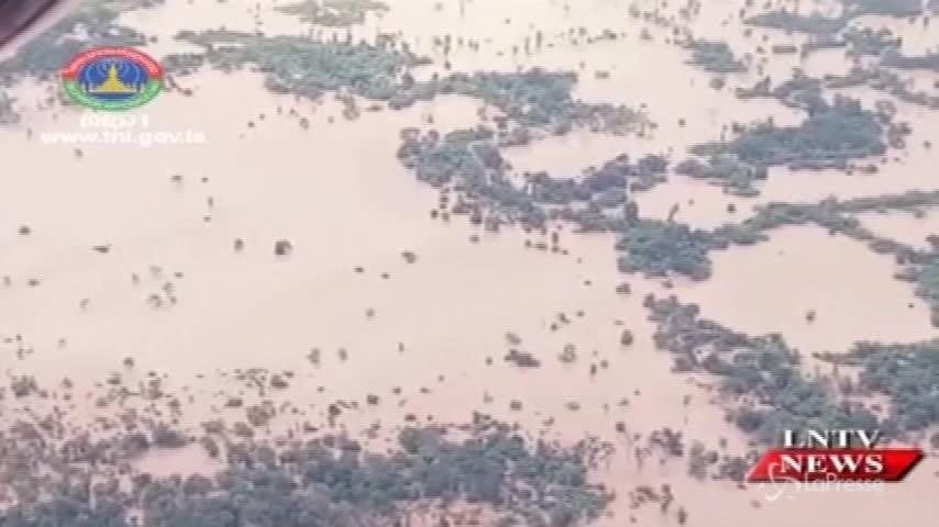 Laos, crolla la diga: la conta dei danni