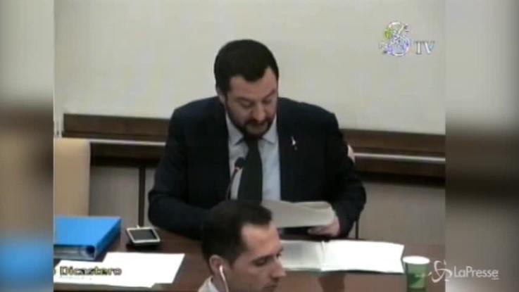 """Richiesta asilo, Salvini: """"Estenderemo i reati per i quali decade"""""""