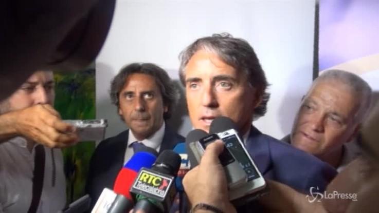 """Mancini: """"Ronaldo grande acquisto, farà bene al calcio italiano"""""""