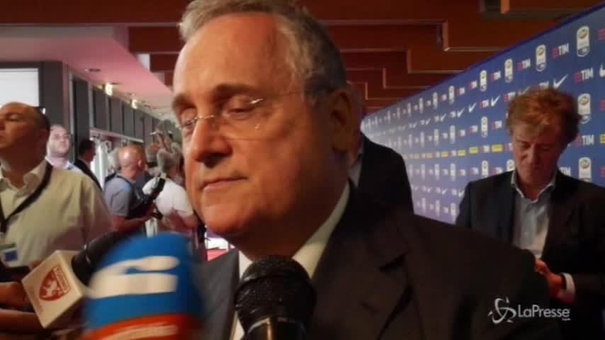 Lazio, Lotito non risponde alle polemiche sul Var
