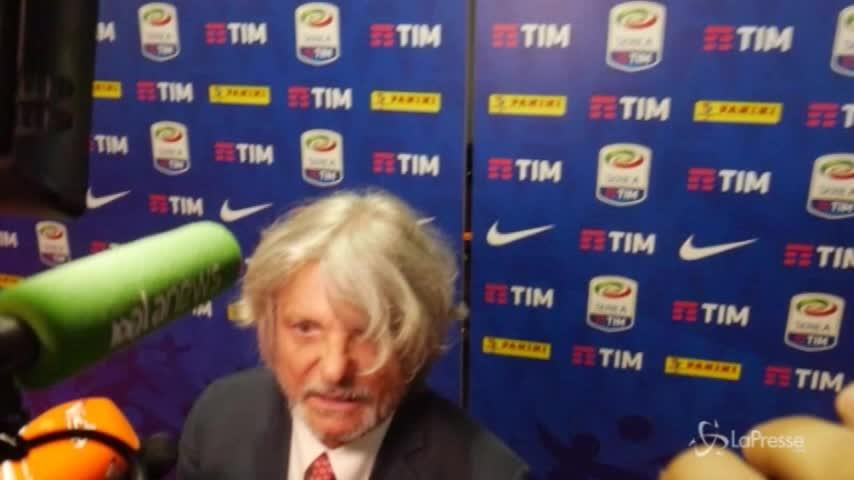"""Sampdoria, Ferrero: """"Non vedo l'ora di far arrabbiare De Laurentiis"""""""