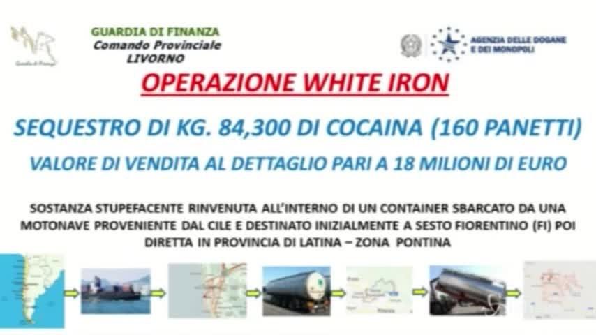 Dal Cile a Livorno, ecco come sono (quasi) riusciti a nascondere 80 kg di cocaina