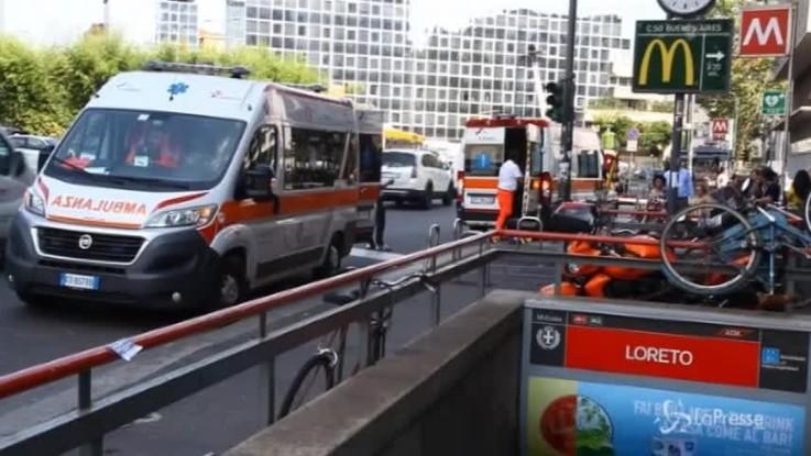 Milano, brusche frenate della metropolitana: diversi feriti