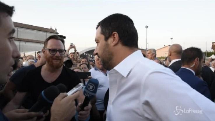"""Nomine Rai, Salvini: """"Spartizione Lega-M5s? Quelli del Pd sono alla frutta"""""""