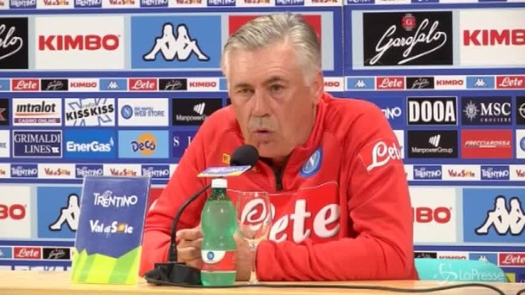 "Napoli, Ancelotti: ""Mai chiesto top player"""