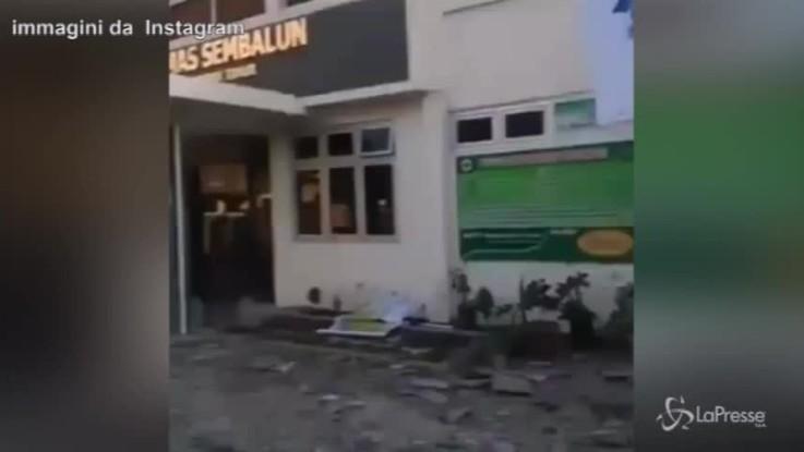 Terremoto in Indonesia, morti e feriti sull'isola di Lombok