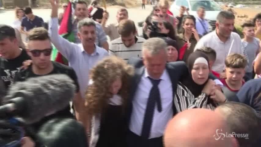 Libera Tamimi, simbolo della resistenza palestinese