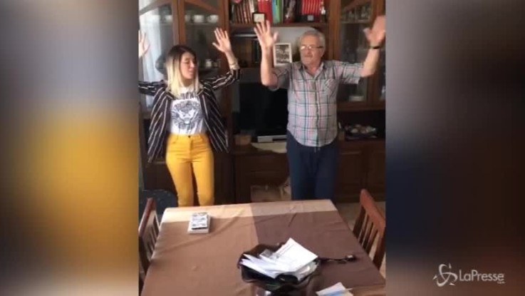 Gf 15, Veronica Satti riabbraccia Bobby Solo