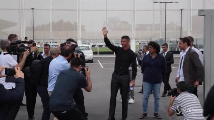 Ronaldo apre il campionato di serie A