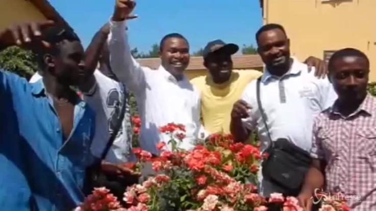 Roma, 28 richiedenti asilo diventano giardinieri