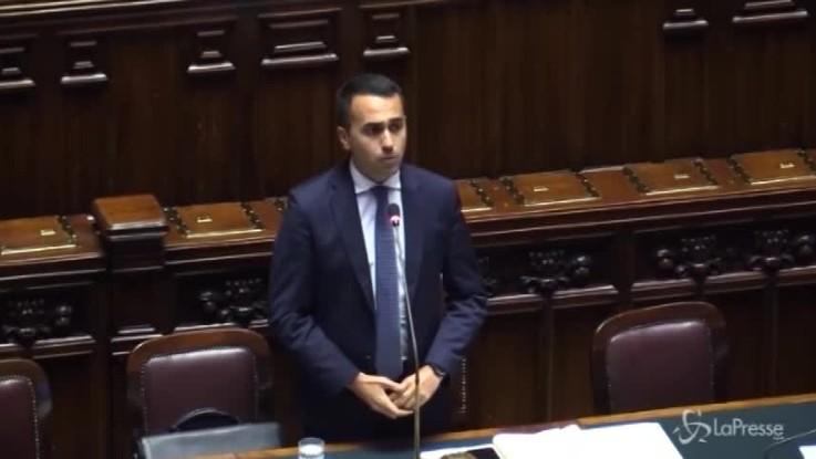 """Dl Dignità, Di Maio: """"Complimenti a opposizioni per livello del dibattito"""""""
