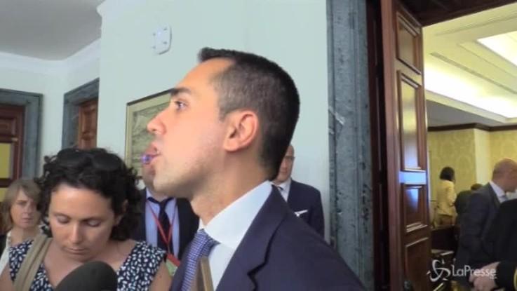 """Foa, Di Maio: """"Ora serve dialogo tra le forze politiche"""""""