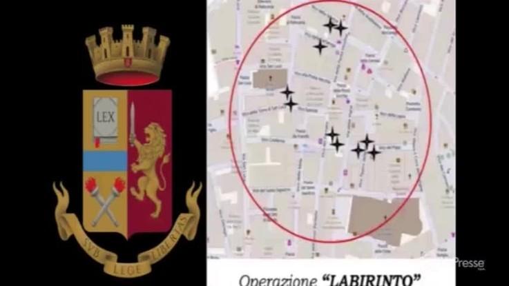Genova, blitz nel centro storico contro lo spaccio