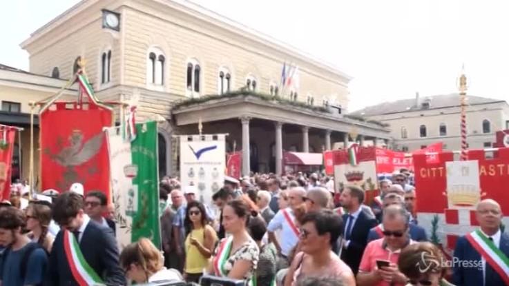 Strage di Bologna, il minuto di silenzio in onore delle 85 vittime