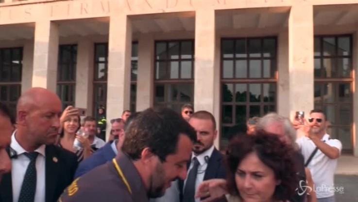 """Salvini: """"Nessun imbarazzo per figlio Foa nel mio staff"""""""