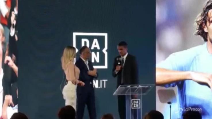 """Inizia l'era Dazn, Maldini: """"A 50 anni sono tecnologico. Felice di sposare questa iniziativa"""""""