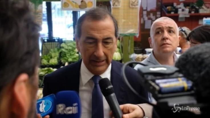 """Milano, Sala: """"Rilanciare mercati comunali coperti"""""""