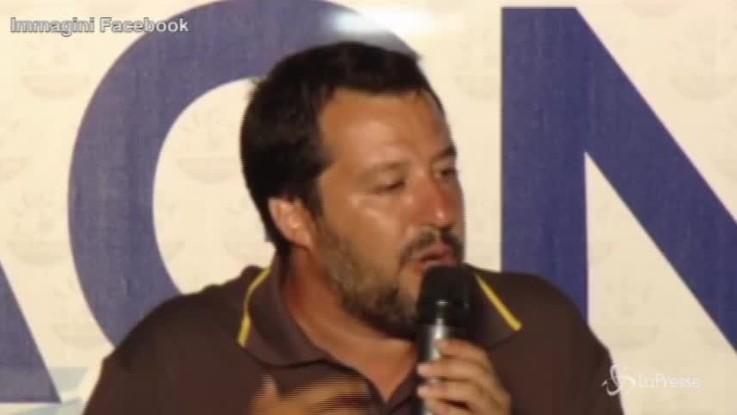 """Tap, Salvini al M5s: """"Va fatto, non si può dire solo no"""""""