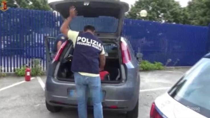 Ragusa, arrestati corrieri della cocaina