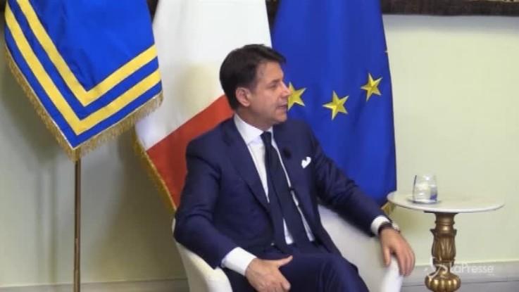 """Rai, Conte: """"Nessuna irritazione con Salvini, Foa profilo adeguato"""""""
