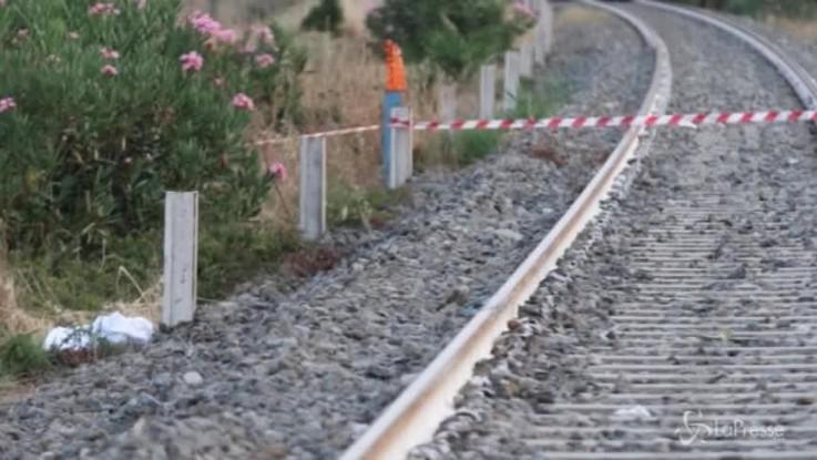 Calabria, due bimbi travolti da un treno: il luogo della tragedia