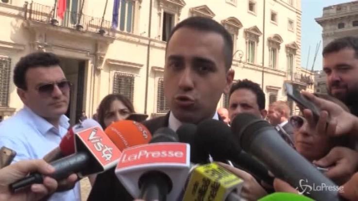 """Fondi periferie, Di Maio: """"Nessun blocco. Anche opposizioni hanno votato emendamento"""""""
