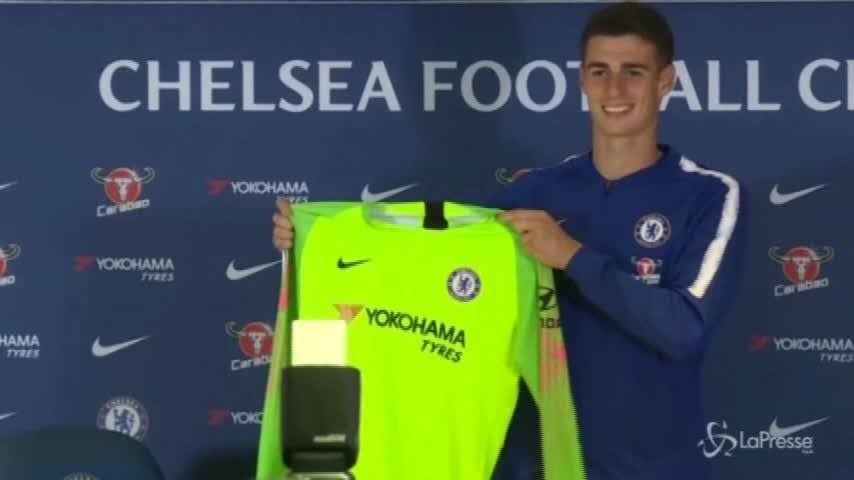 Chelsea, presentato Kepa il portiere da 80 milioni di euro