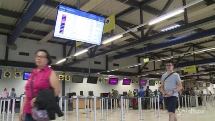 Berlino, inizia lo sciopero Ryanair