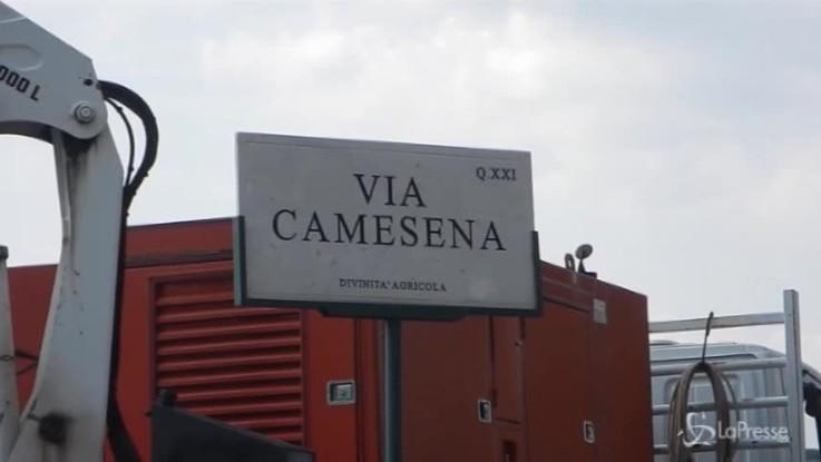 Roma, allagamento in zona Portonaccio